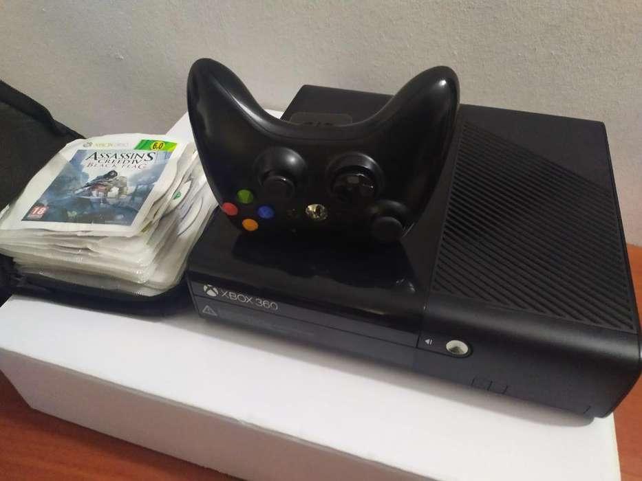 Xbox 360 Slim E Lt6 20juegos Cd