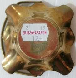 Canasta porta vela de bronce