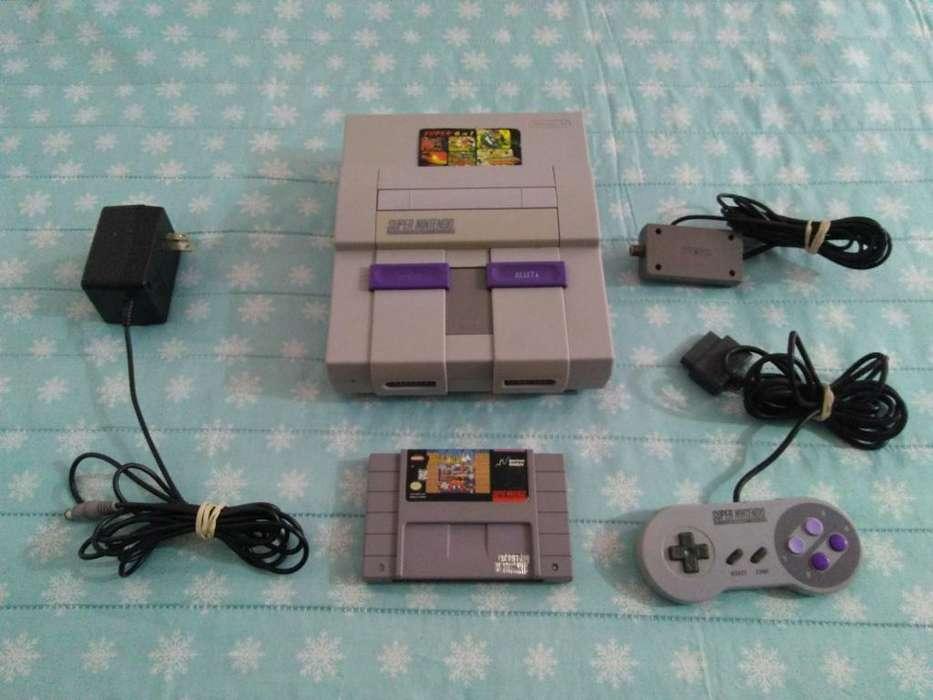 Super Nintendo Cambio