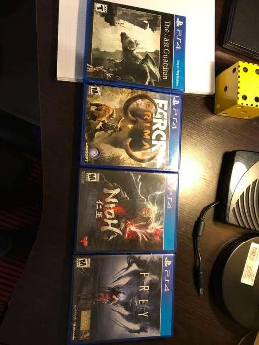 PS4 juegos originales