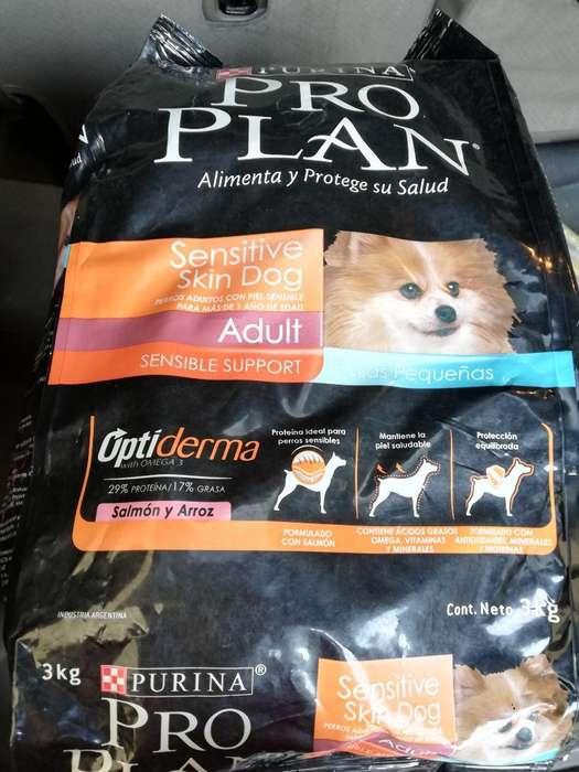 Pro Plan Adult Sensitive Skin 3kg