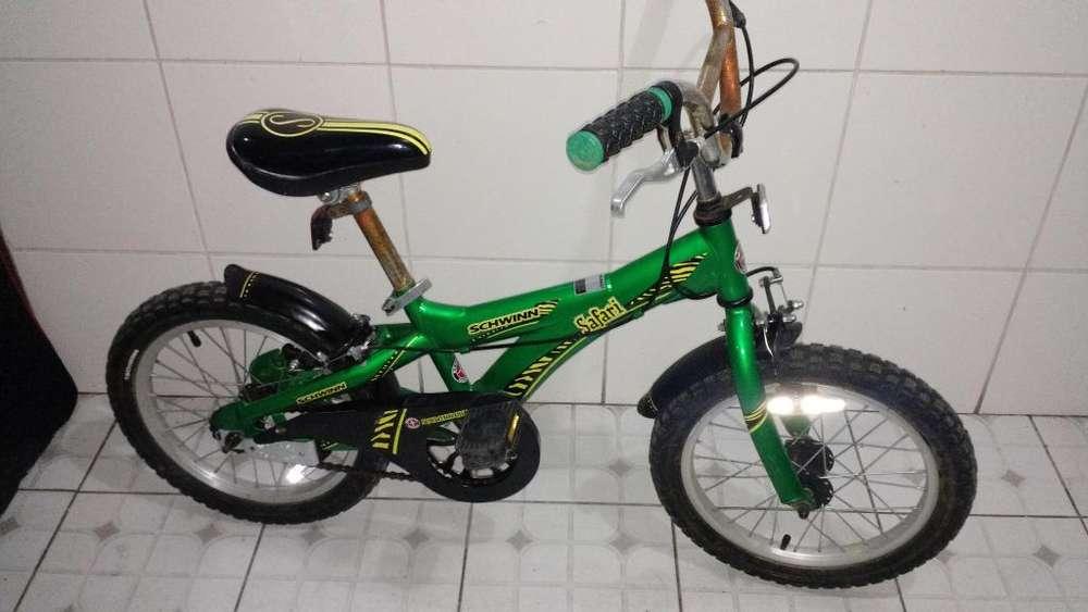 Vendo Bicicleta para Niño Marca Schwin