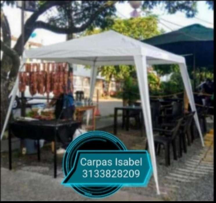 Promoción Carpas 3x3 Nuevas Impermeables
