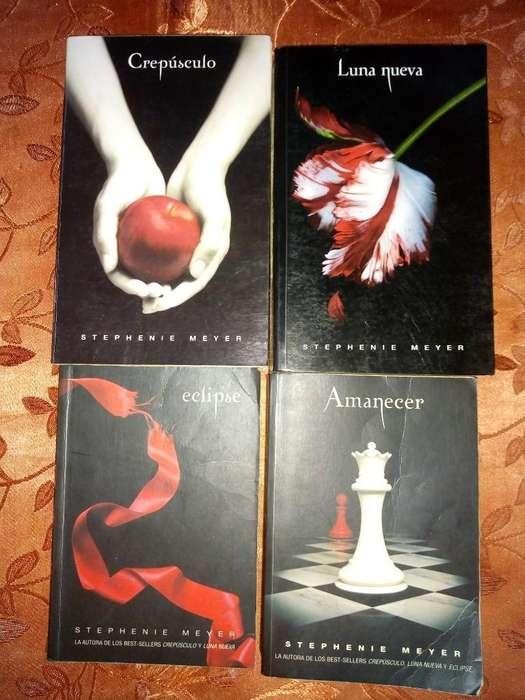 Saga de Crepúsculo ,4 Libros