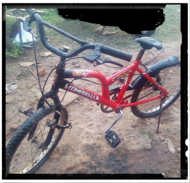 Vendo Bici Tomaselli Rodado 20