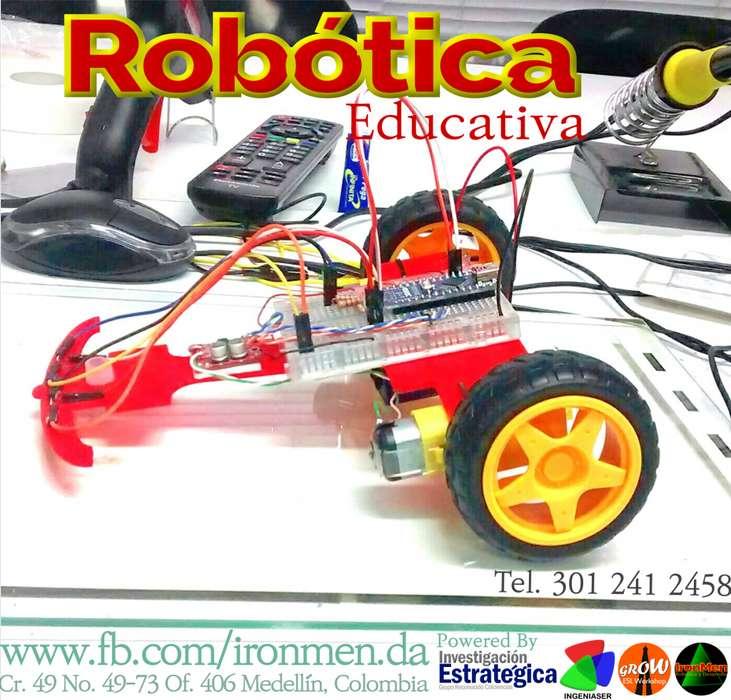 Cursos de Robótica Educativa