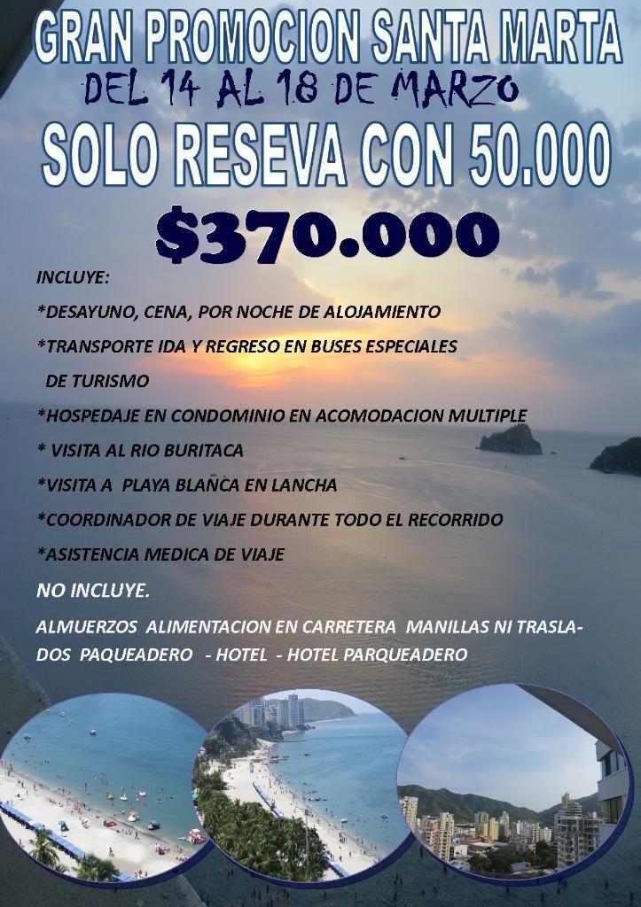 Gran Promocion Santa Marta