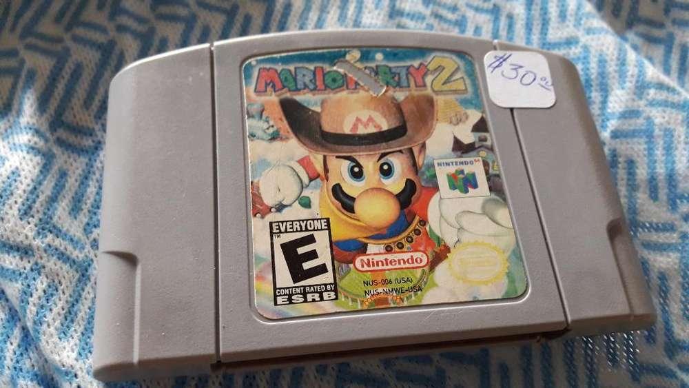 Mario Party2 Nintendo64
