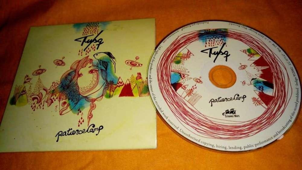 Tusq - Patience Camp - CD Germany