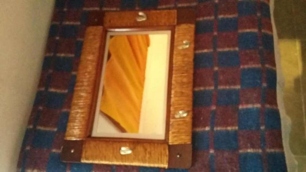 Espejo Perchero Antiguo