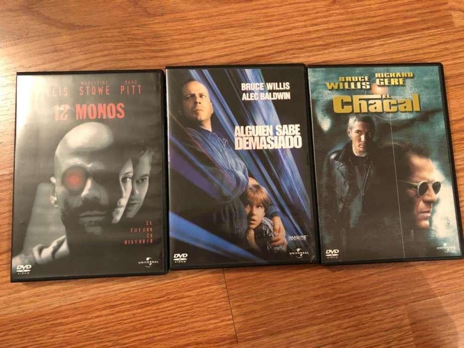 serie en dvd trilogia bruce willis originales