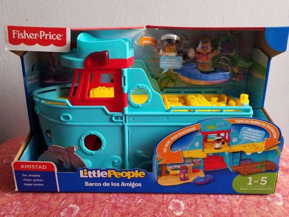 Hermoso Barco Fisher-price