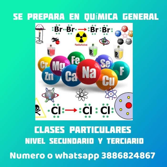Preparo para Química General