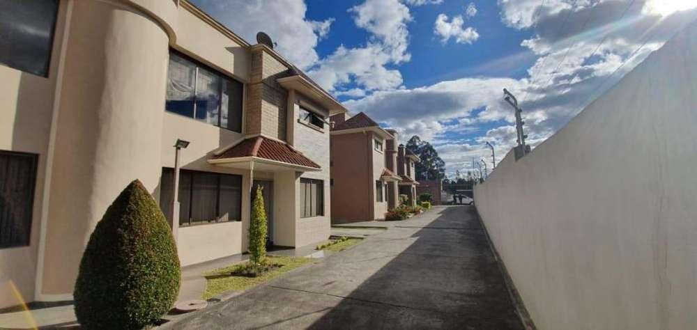 SOLINM: En Arriendo casa en condominio privado en Challuabamba 450