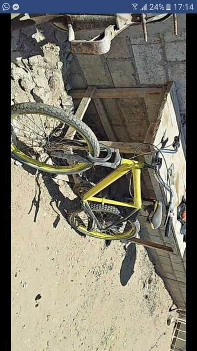 Bicicleta Aro 24 con Cambios
