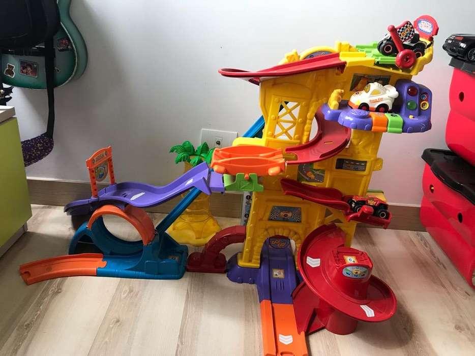 Pista Carros Niños Usada