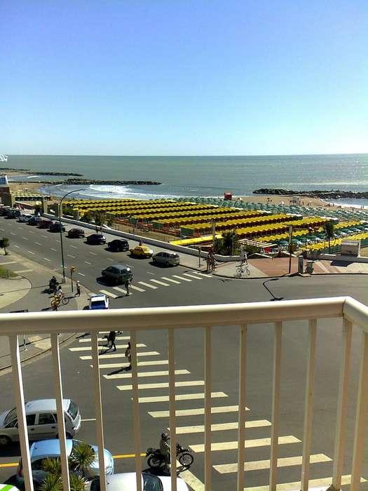 Mar del Plata, todo el año, frente al mar, 2 amb. UNICOS