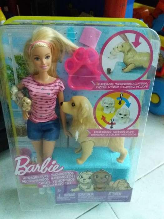 Barbie Cachorritos Nueva