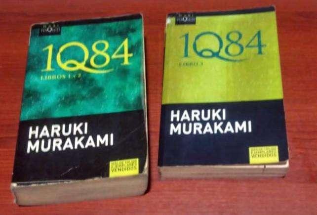 HARUKI MURAKAMI 1Q84 PARTE 1,2,3