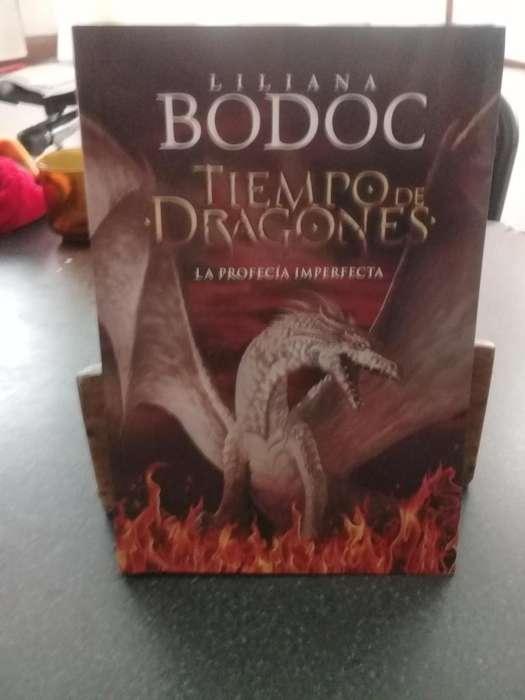 Libro Tiempo de Dragones Liliana Bodoc 350