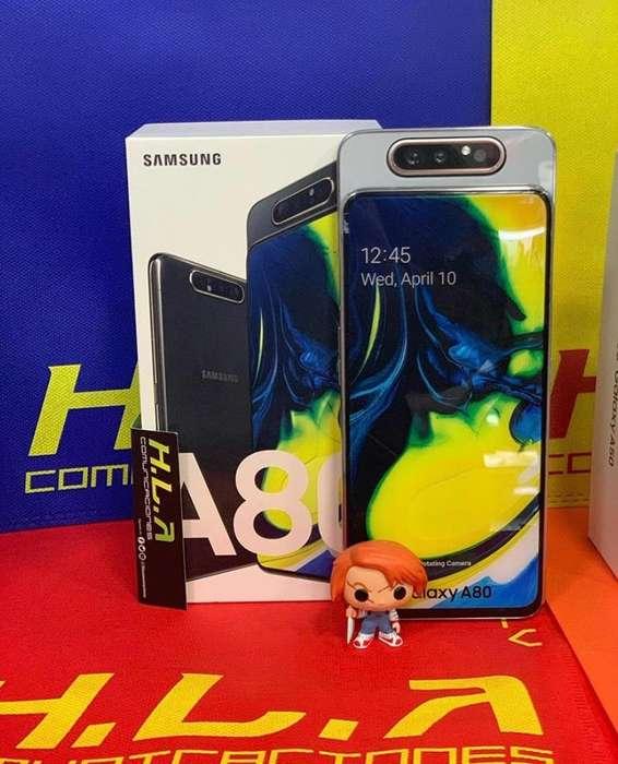 Samsung Galaxy A80 128GB nuevos con factura garantia domicilio sin costo HLACOMUNICACIONES