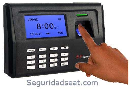 Control Biometrico para Asistencia y tiempo laborado Cali. Reloj de control entrada salida.