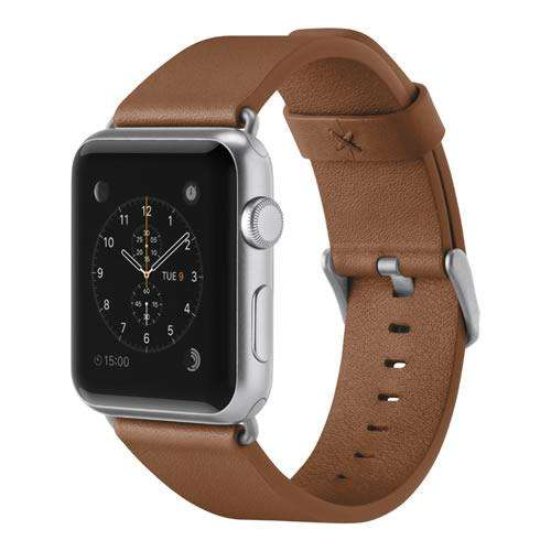 Correa Apple Watch 1, 2, 3, 4 Cuero Italiano Clásico Belkin 42 / 44mm