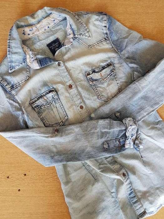 Camisa Jean Xxl