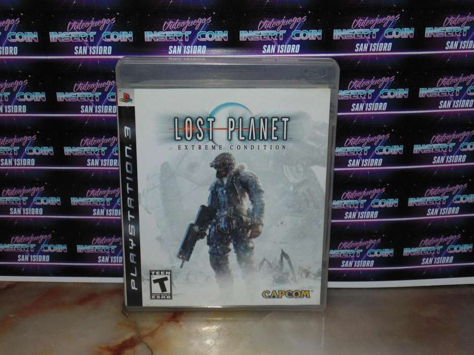 Lost Planet PS3 Juego Play Station 3