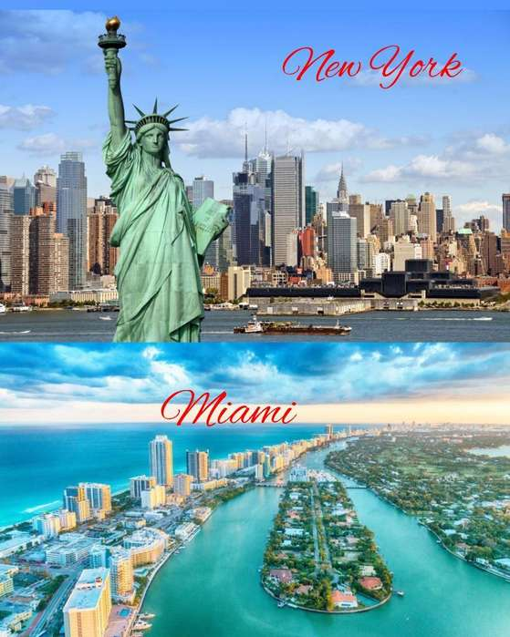 Miami & New York