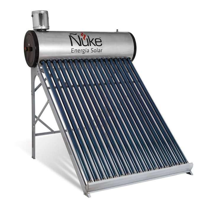 Termotanque Solar Ñuke Modelo Atmosféric
