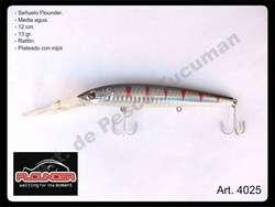 Señuelo Flounder media agua 11 cm. Articulos de Pesca Tucuman. 4024