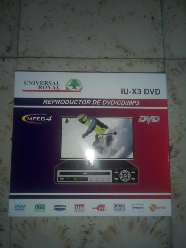 DVD Universal USB