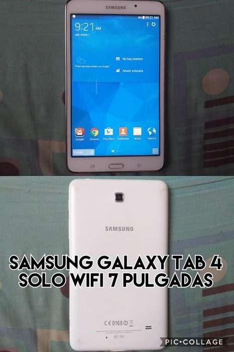 samsung galaxy tab 4 7 pulgadas solo wifi venta cambio