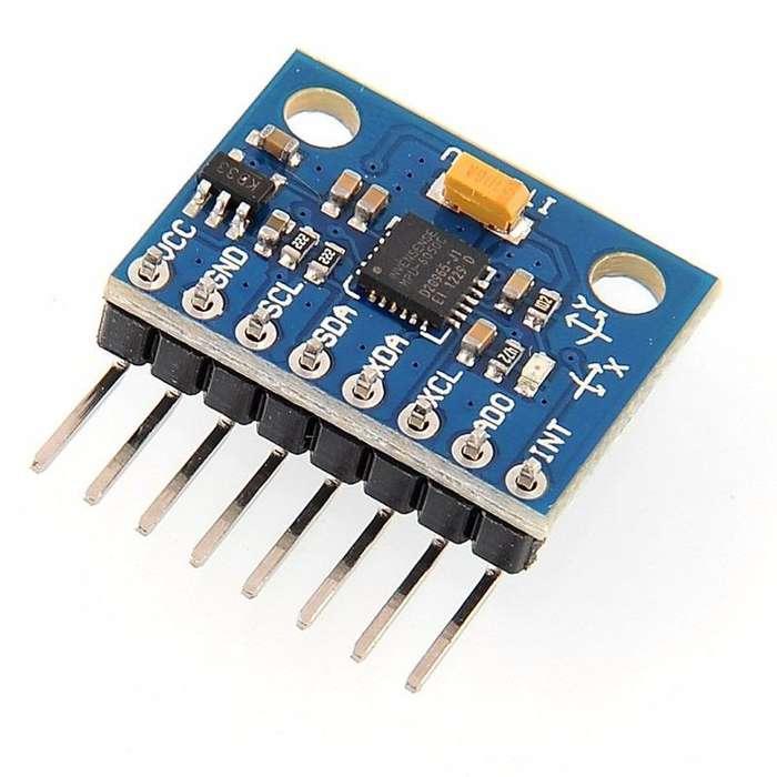3-ejes Módulo Giroscopio Acelerómetro Para Arduino Mpu 6050