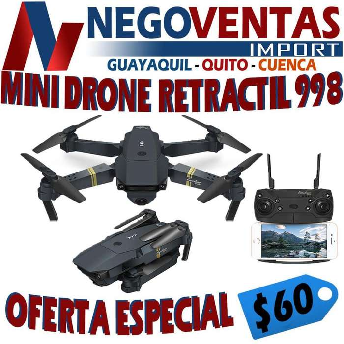 MINI DRONE RETRACTIL 998