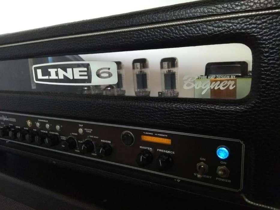 Line6 head Spider Valve 100HD. 100watts.