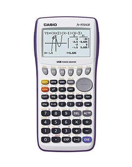 Calculadora Grafica Casio Fx-9750 G Ii
