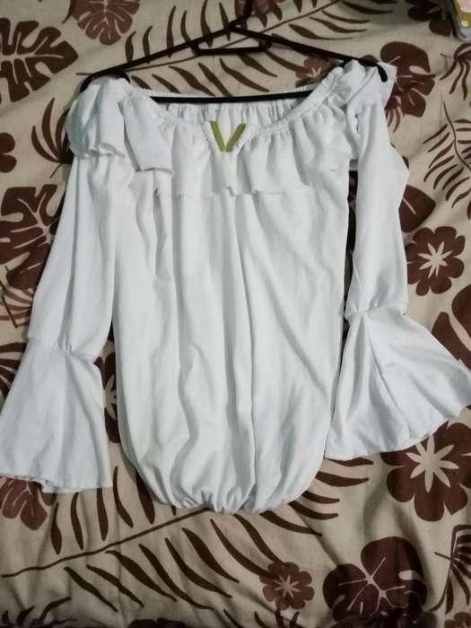 Blusa Nueva Moda Mujer Algodon Small