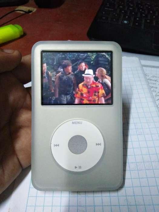 iPod Classic 160 Gb. con Funda de Goma
