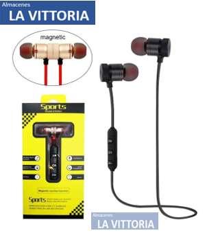 Audífonos Bluetooth Stereo Magnéticos Super Potentes