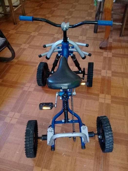 Cuatri a Pedal para Niño