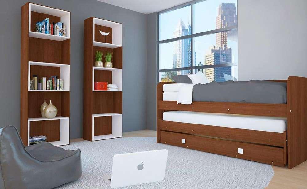 Cama Nido 1 Plaza Sin Carro / <strong>dormitorio</strong> / Mueble COD.M.009