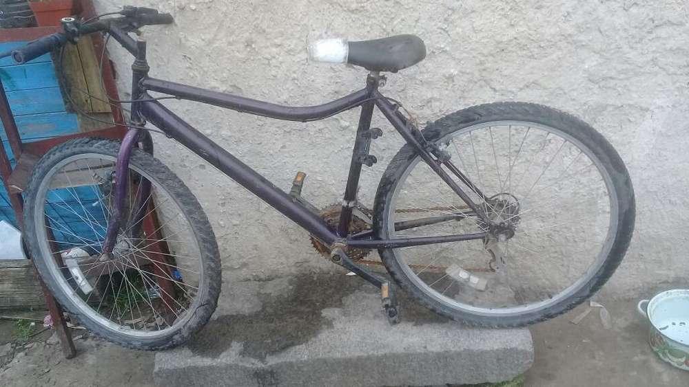 Bicicleta en Buen Estado Andando