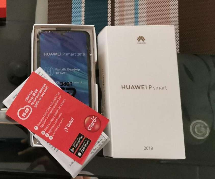 Vendo Huawei P Smart Negro 2019