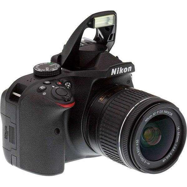Cámara Profesional Nikon D3400 18-55mm