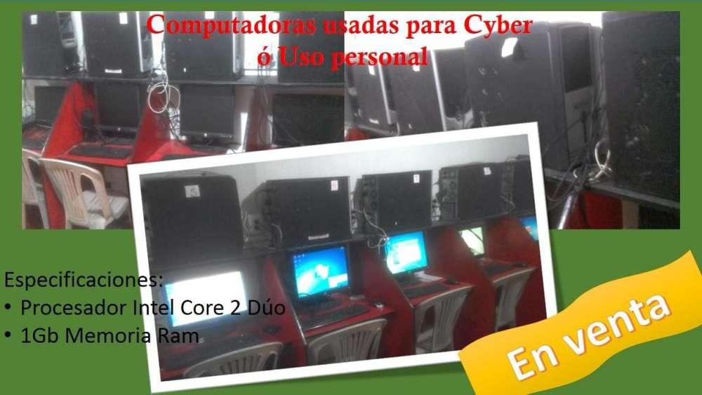 Computadoras Usadas para Cyber o Uso personal