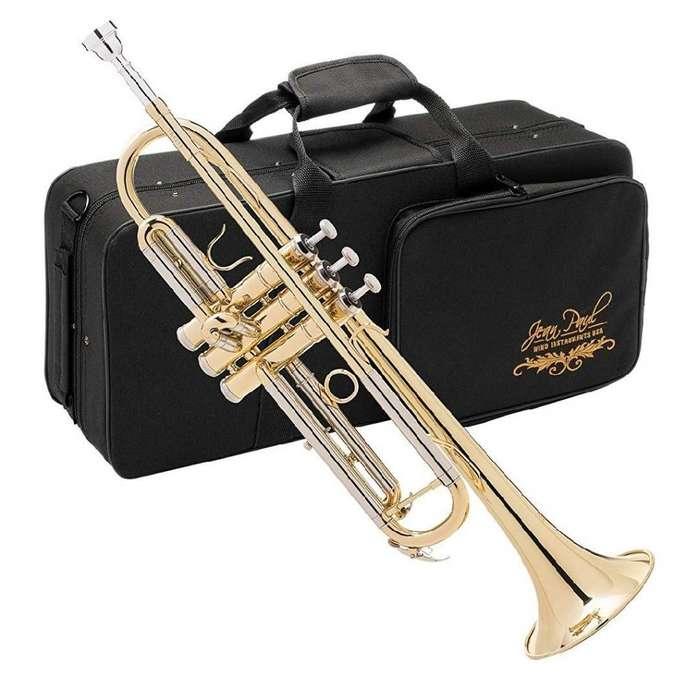 <strong>trompeta</strong> Dorada Americana Jean Paul Usa Estuche Boquilla Nuevas