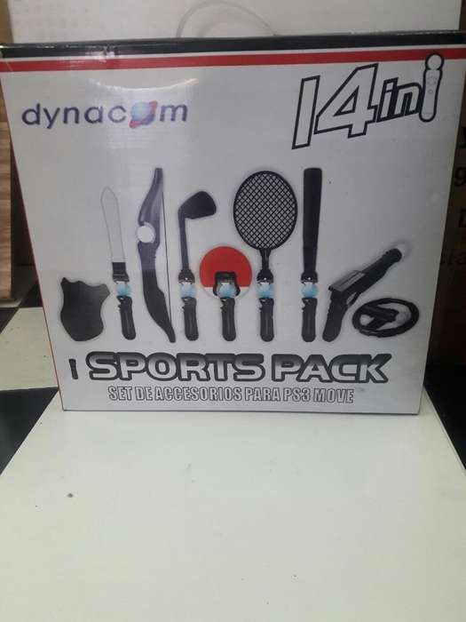 Sport Pack para Move Ps3