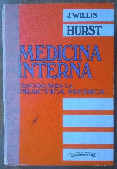 Medicina interna Tratado para la Práctica Médica J. Willis Hurst. 1984. URGENTE.